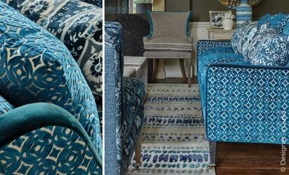 Textile Raumgestaltung mit Stoffen aus Stuttgart
